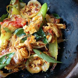 Thai Egg Plant Curry(ela Batu Curry)