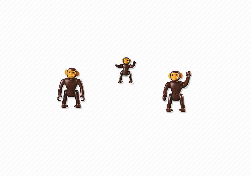 Contenido de Playmobil® 6650 Chimpancés