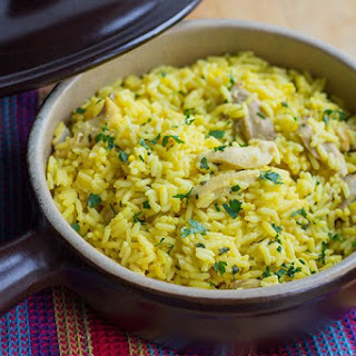 Easy One Pot Chicken and Saffron Rice Recipe