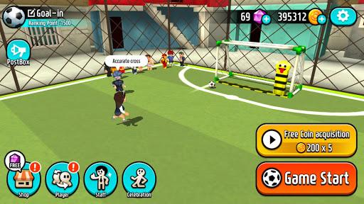 Goal.io: Brawl Soccer  captures d'u00e9cran 1