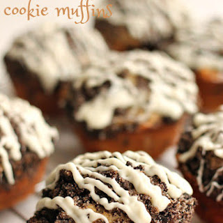 Oreo Cookie Muffins.
