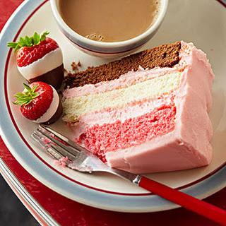 Neapolitan Party Cake