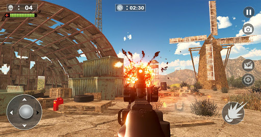 Code Triche Free Firing Commando - Counter Attack FPS 2019 APK MOD screenshots 5