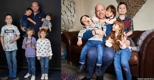 Selfless Single Dad Adopts Sixth Child – And Says There's Room For More