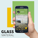 Glass Material Theme 2 icon