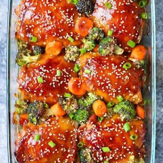 Baked Teriyaki Chicken and Broccoli Recipe