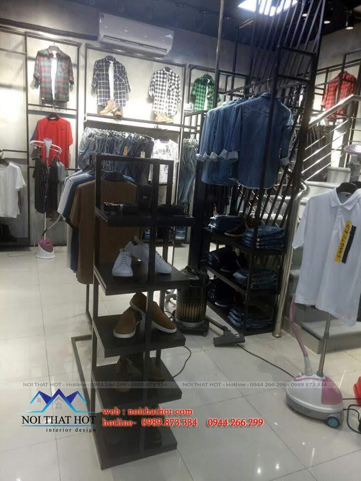thiết kế shop thời trang nam H2T 27
