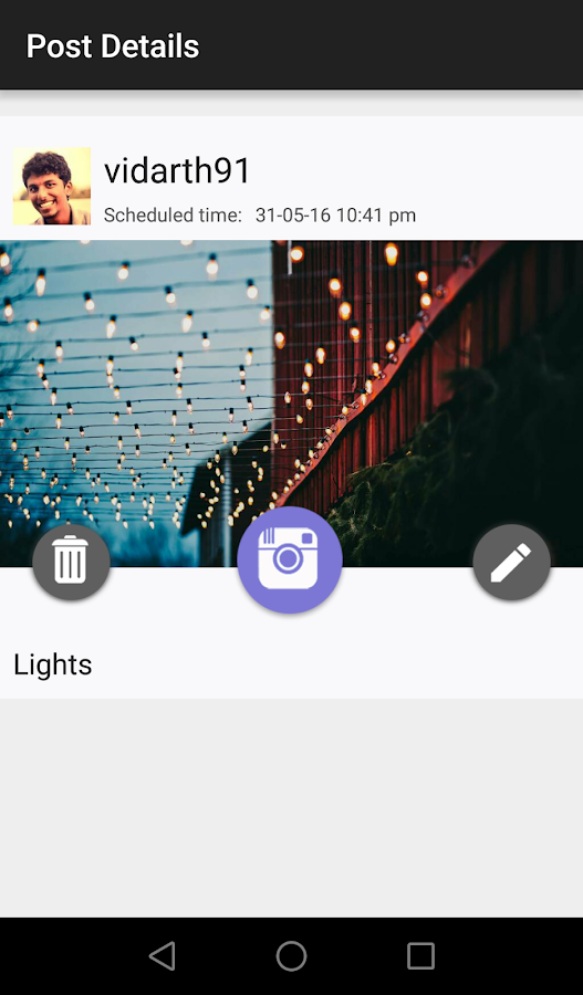 Stribr - Instagram Scheduling- screenshot