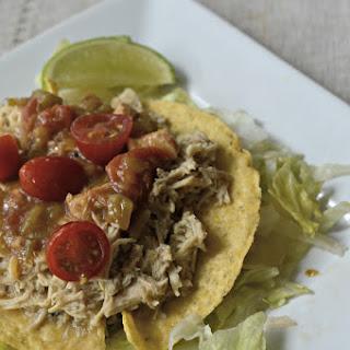 4 Ingredient Crock-Pot Tacos.