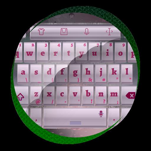 个人化のグレイファントム TouchPal 皮膚Hifu LOGO-記事Game