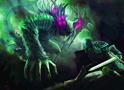 Darkness Souls - náhled