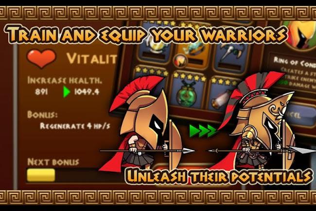 Brave Warriors: Zombie Revenge- screenshot