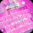 Pink Unicorn Keyboard Theme 6.10.12.2018