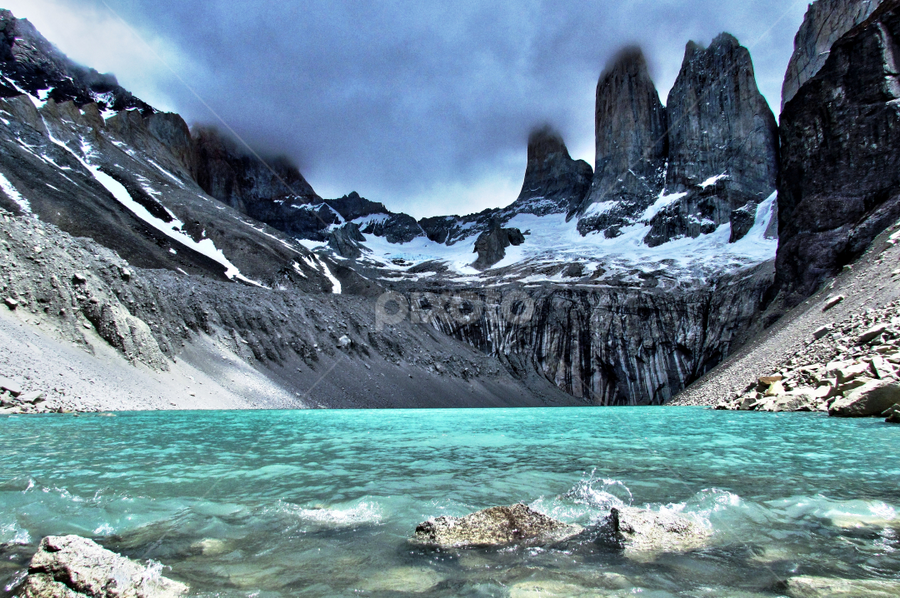 Torres del Paine by Fabio Ferraro - Landscapes Mountains & Hills ( torres del paine, chile, mountain, patagonia, cordillera )