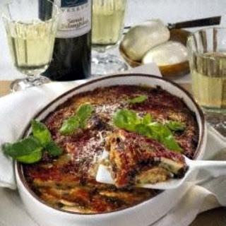 Parmigiana di melanzane (Auberginen-Auflauf)