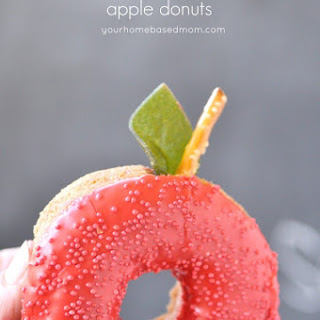Back to School Apple Donuts