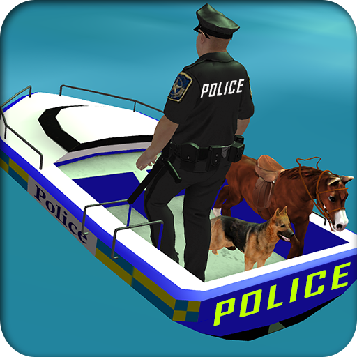 Power Boat Transporter: Police 模擬 App LOGO-APP開箱王