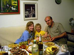Photo: My host fathers birthday celebration....