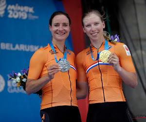 Marianne Vos mag meejuichen met winnende landgenote op Europese Spelen