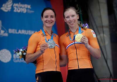 Wiebes en Vos palmen eerste twee plaatsen in op Europese Spelen