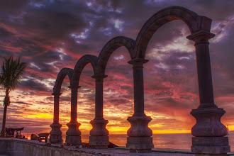 Photo: Rebuilding Los Arcos  HDR 3 shots , 2EV
