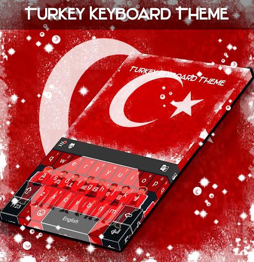 Turkey Keyboard Theme ss3