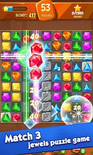 Game Jewels classic - Jewel Crush Legend APK for Windows Phone