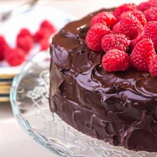 Chocolate Raspberry Torte.