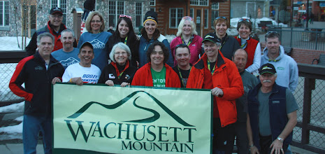 Photo: A large contingent of racers from Wachusett Mountain
