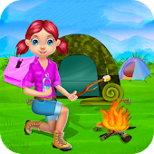 Camping Vacation Kids Games