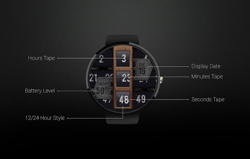 Watch Face: Bands