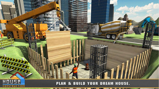 House Building Construction Games - City Builder  screenshots 1