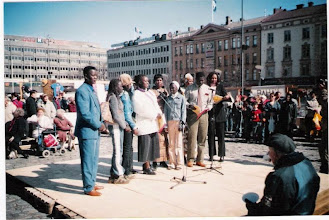 Photo: Laulajat Sudanista