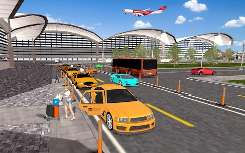 City Taxi Driving simulator: online Cab Games 2020 6