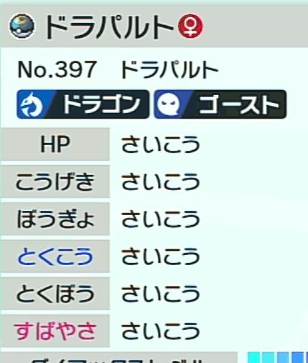 チェッカー 値 ソード ポケモン 個体