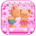 Bear Couple Keyboard Theme icon
