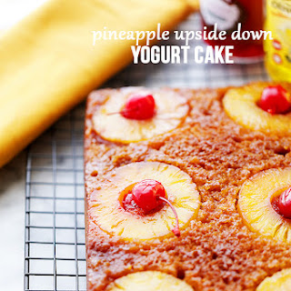 Pineapple Upside Down Yogurt Cake