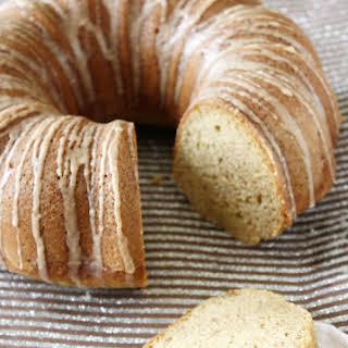 Spice Bundt Cake with Cinnamon Glaze.