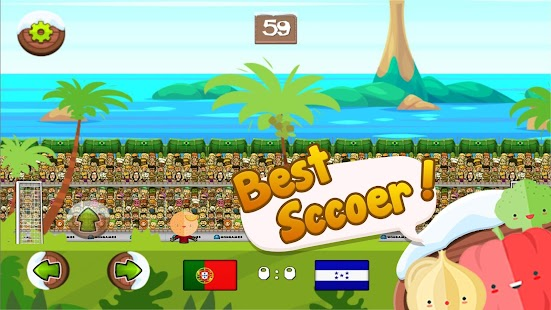 Puppet Fruity Soccer Football - náhled