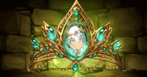 極醒の緑龍喚士・ソニア=フィオのティアラ