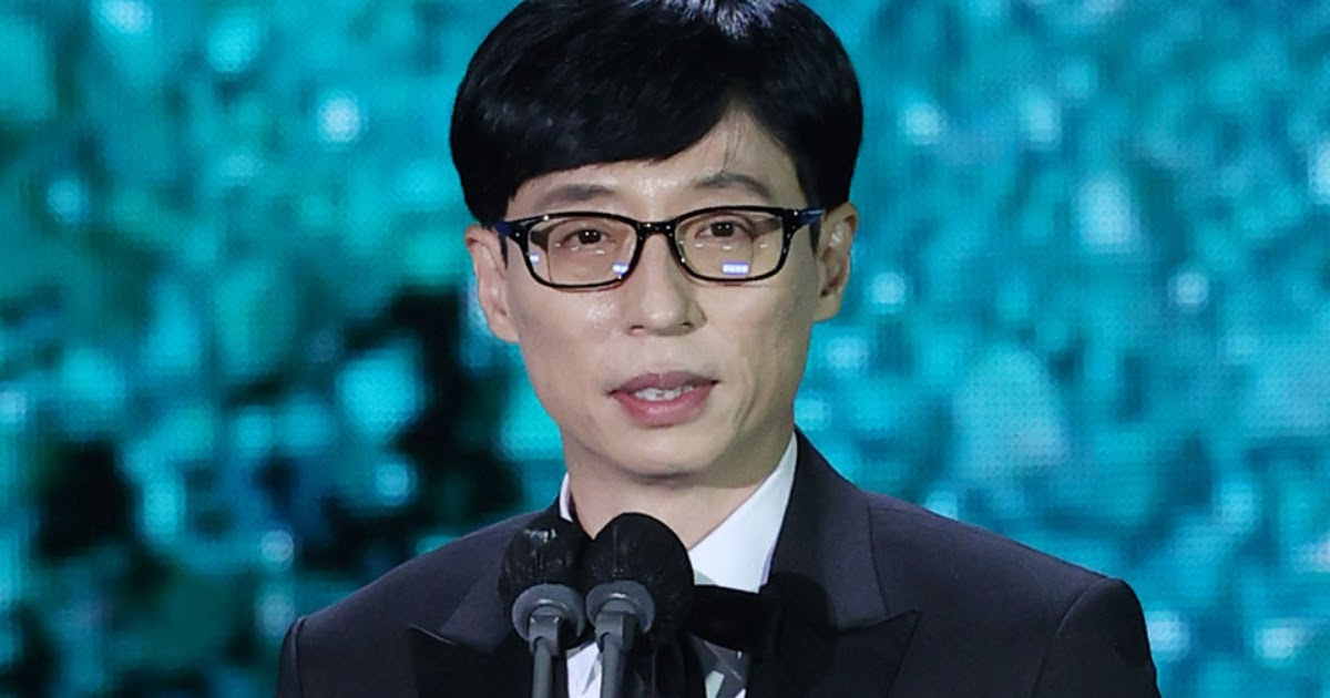 "Daesang Winner Yoo Jae Suk's Acceptance Speech At The ""57th Baeksang Arts Awards"" Receives National Praise From Koreans"