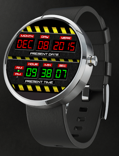 Watch Face To The Present