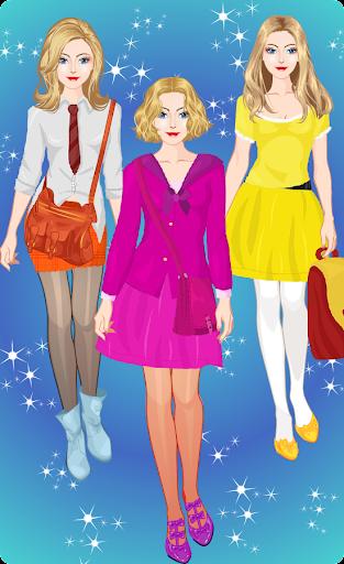 Princess High School Dress up apktram screenshots 12