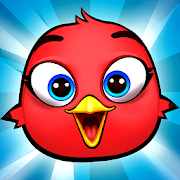 Bird Bounce: Angry Cute Birds Jumping game