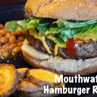 Mouthwatering Hamburger.