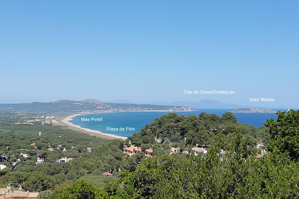 Playa de Pals mit Mas Pinell