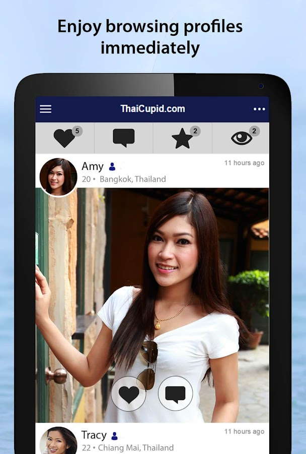 ThaiCupid - Thai Dating App - Android Apps on Google Play
