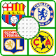 Football Logo Color by Number - Logo Pixel Art for PC-Windows 7,8,10 and Mac
