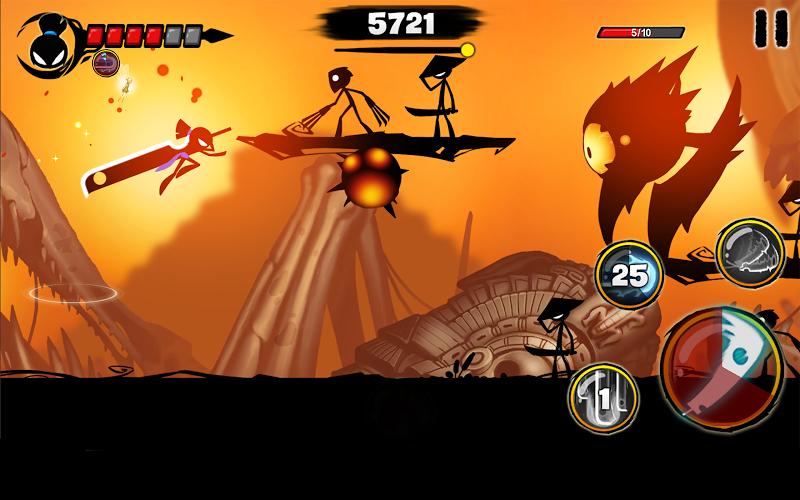 Stickman Revenge 3 - Ninja Warrior - Shadow Fight Screenshot 12