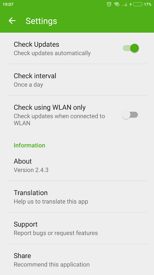 Screenshots of Update for Whastapp for Android